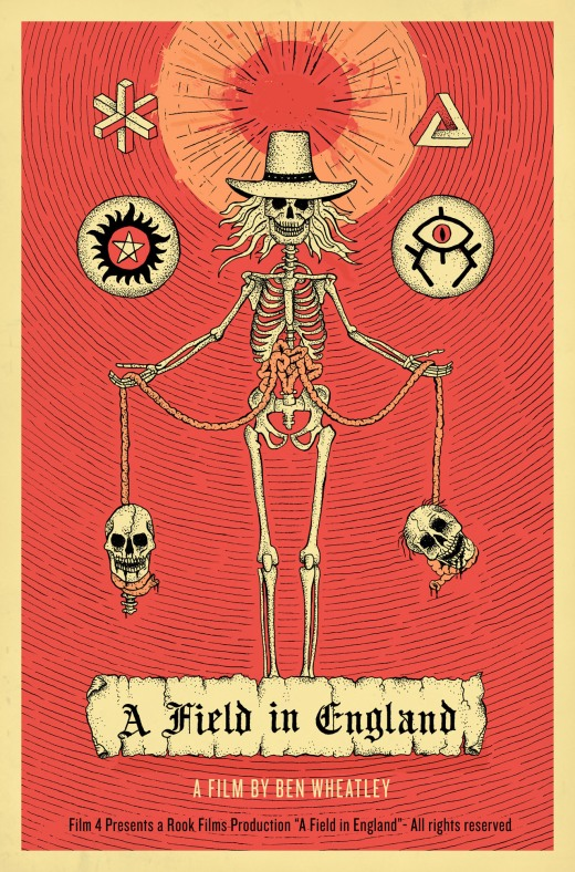 A FIELD IN ENGLAND POSTER 2