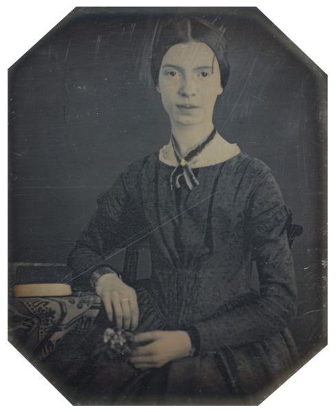 489px-Black-white_photograph_of_Emily_Dickinson2