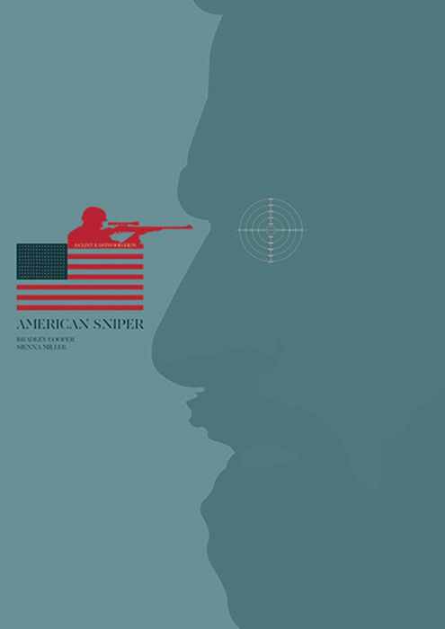 american sniper -minimal-movie-posters