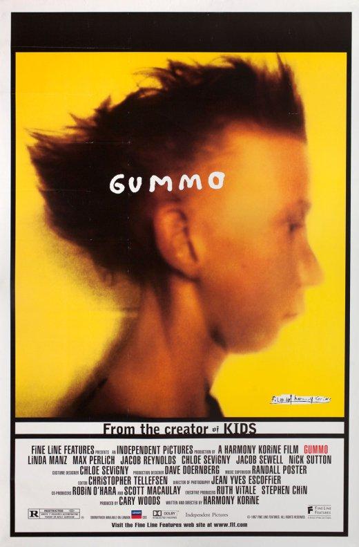 Harmony Korine's Gummo poster