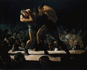 pacific rim Club Night by George Bellows