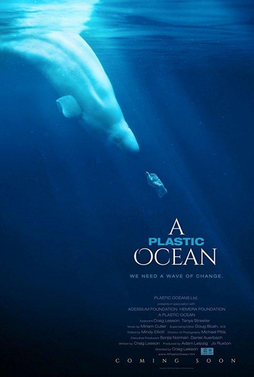 plastic ocean poster