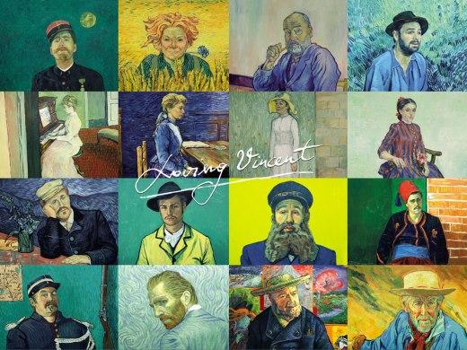 loving vincent Portraits