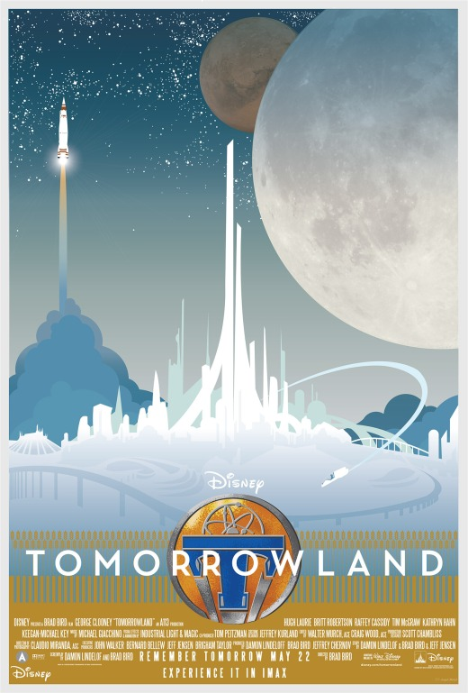 tomorrowland- poster by Joseph Marsh