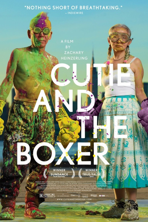 CUTIE AND THE BOXER - American Poster