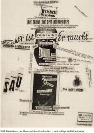 Willi Baumeister, Der Mann auf dem Kronleuchter, c. 1916