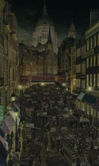 steamboy cityscape