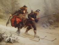 Birkebeinerne_på_Ski_over_Fjeldet_med_Kongsbarnet