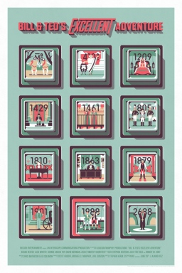 Bill+&+Ted's+Excellent+Adventure+Poster+by+DKNG