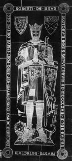 s08858-Tomb-of-Robert-the-Bruce-Dunfermline-Fife
