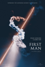Ryan Gosling Poster - First Man 2018 [1675 x 2481] MoviePosterPorn in 2018