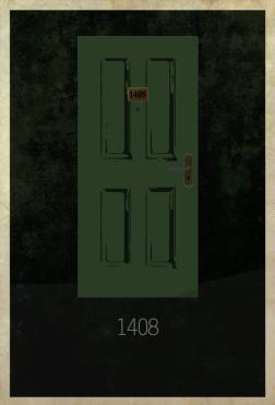 1408 (2007) ~ Minimal Movie Poster by Edgar Ascensao ~ Movie Door Series