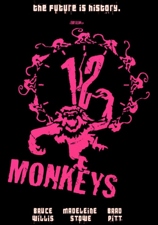 12-Monkeys-Movie-1995-Tech-Noir-Poster