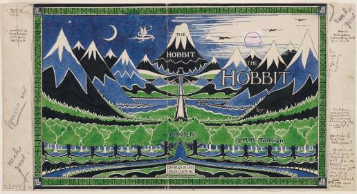 hobbit-dust-jacket-recoloured - 300 dpi