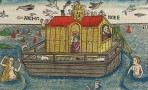 Woodcut_of_Noah's_Ark_from_Anton_Koberger's__German_Bible_