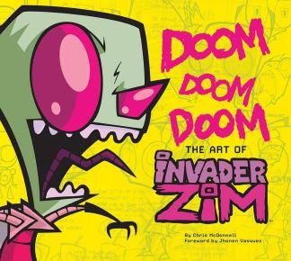 DOOM-DOOM-DOOM-The-Art-Of-Invader-Zim-Book-Novel-Front-Cover-Art-Abrams-Nickelodeon-Nick