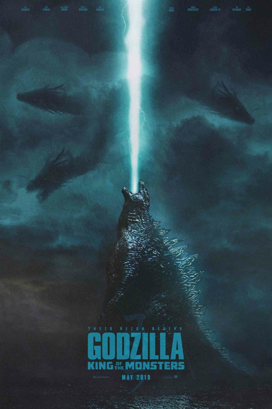 1260 Godzilla King Of The Monsters 2019 Timespace Warps