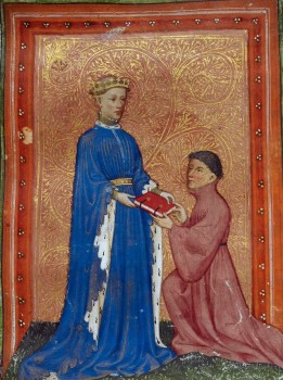 1024px-Henry,_Prince_of_Wales,_presenting_this_book_to_John_Mowbray._Thomas_Hoccleve,_Regement_of_Princes,_London,_c._1411-1413,_Arundel_38,_f._37detail