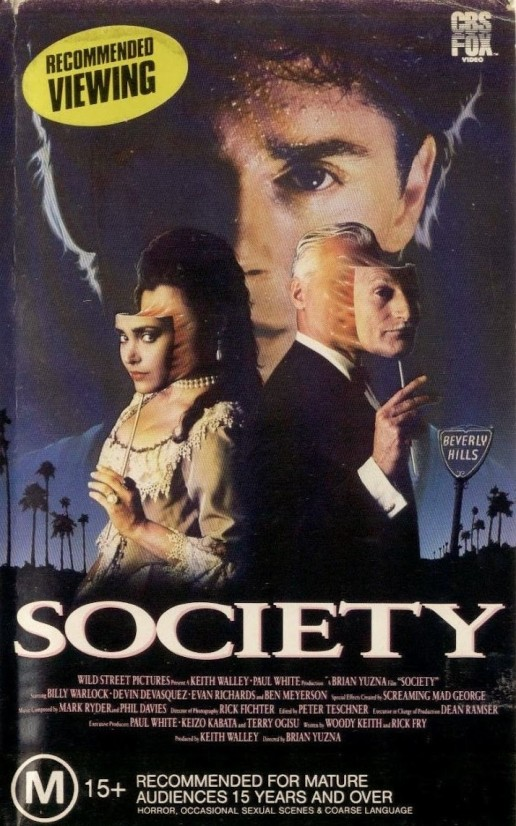 Society 1989 vhs