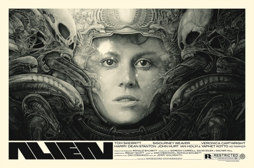 Alien poster by Gabz