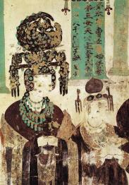 Dunhuang_Mogao_cave_Cao_donor_figures