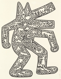 Lempertz-1122-521-Contemporary-Art-Keith-Haring-DOG