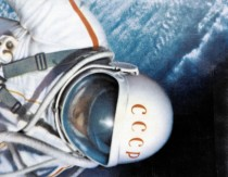 Mandatory Credit: Photo by Sovfoto/Universal Images Group/Shutterstock (3828858a) Voskhod 2 mission, soviet cosmonaut alexei leonov during world's first space walk (eva) in 1965. VARIOUS
